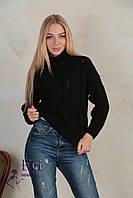 Короткий вязанный свитер 007D/03, фото 1