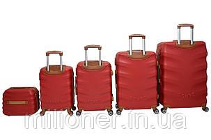 Чемодан Bonro Next набор 5 шт. бордовый, фото 2