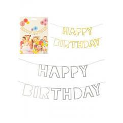 Гирлянда Happy Birthday (в ассортименте)