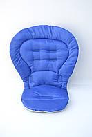 Чехол к стульчику для кормления Chicco Polly Magic 3 в 1 синий (электрик), фото 1