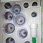 Набор вакуумных банок 12 шт для массажа с насосом, фото 2
