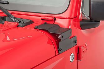 Держатель кронштейн дополнительного освещения Jeep Wrangler JL