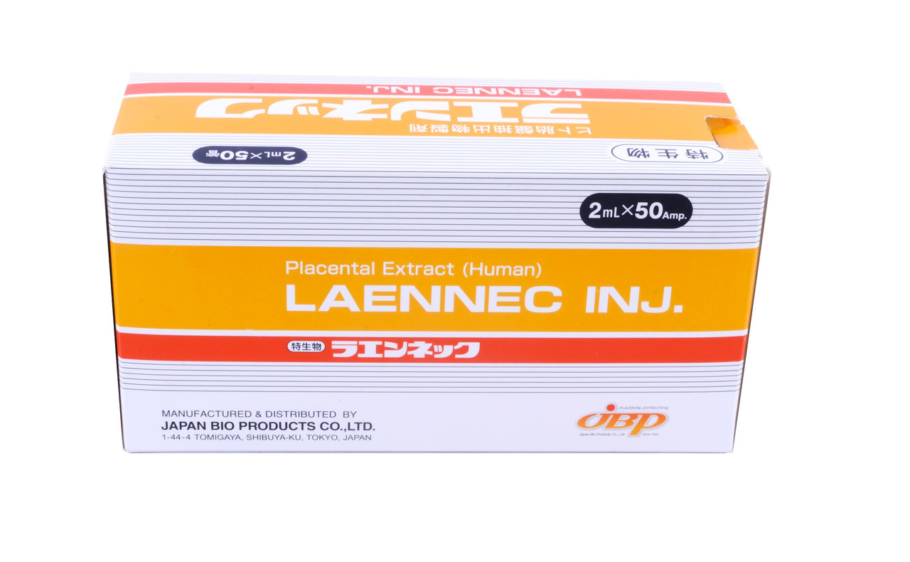 Laennec (Лаеннек) плацентарный препарат, Япония