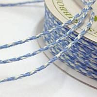 Шнур Bakers Twine - Blue Iris & Ivory, 1м/2мм