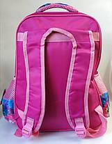 Школьный рюкзак для девочек Холодное сердце розовый, фото 3