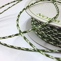 Шнур Bakers Twine - Moss & Ivory, 1м/2мм