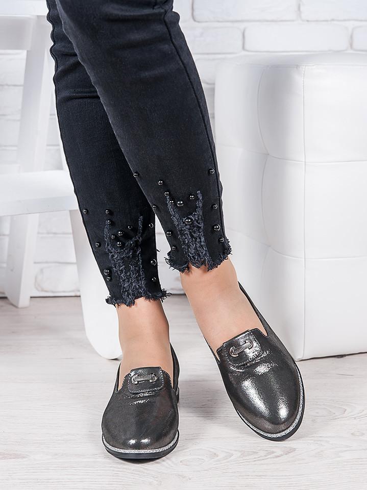 Туфлі сатин шкіра Лорі 6963-28