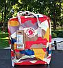 Рюкзак женский Fjallraven Kanken classic backpack in camo. Живое фото. Premium Class