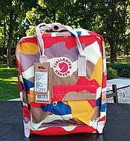 Рюкзак женский Fjallraven Kanken classic backpack in camo. Живое фото. Premium Class, фото 1