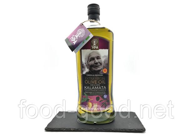 Оливковое масло HPA region Kalamata Peloponnese 0,4% extra virgin olive oil Греция, 1л, фото 2