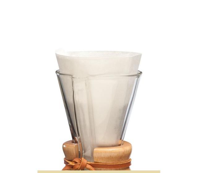 Фильтры для Кемекса ChemexFP-2 Белые 100 шт. 1-4 порции.