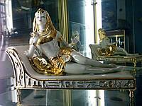 """Статуэтка декоративная ,фарфоровая ,,Клеопатра"""",с позолотой.Vittorio Sabadin,Италия."""