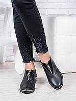 Туфли черная кожа Никки 6965-28, фото 1
