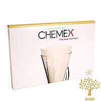 Фильтры для кемекса Chemex FP-2 (Белые 100 шт.)