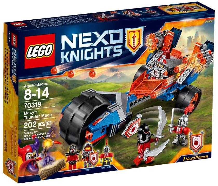 Lego Nexo Knights Булава грому Мейсі 70319