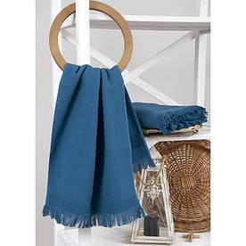 Полотенце махровое Buldans - Siena Midnight Blue 90*150