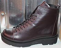 Ботинки кожаные женские зимние от производителя модель СА240-1Z, фото 1