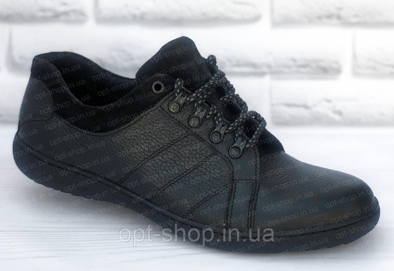 Туфли мужские кожаные большого размера 46-50, мужская обувь больших размеров