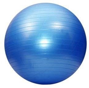Мяч фитнес 75 см, глянец; синий 5415-7B