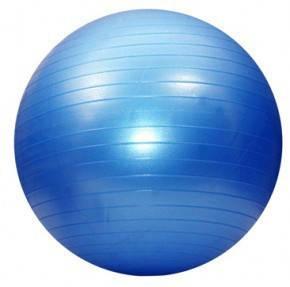 Мяч фитнес 75 см, глянец; синий 5415-7B, фото 2