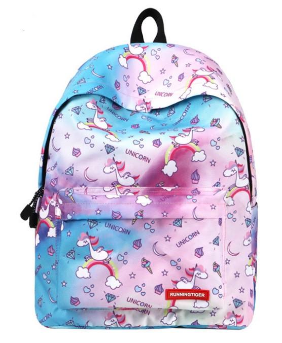 Рюкзак молодежный Unicorn Diamond Runningtiger