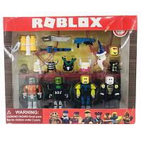 Игровой набор Roblox 4 рыцаря и доспехи