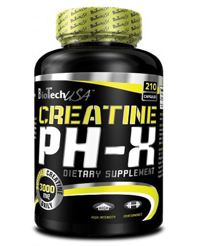 Пищевая добавка BT CREATINE pH-X 210
