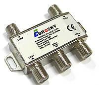DiSEqC 2.0 4x1 Eurosky DSW-7107P - коммутатор (переключатель) для спутниковой антенны