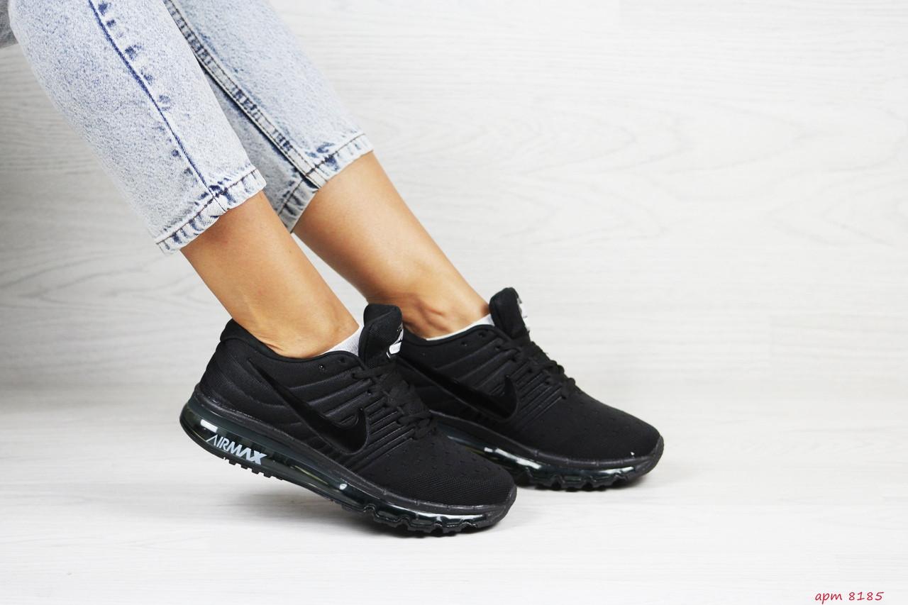 Женские кроссовки Nike Air Max 2017 (черные)