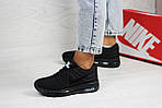 Женские кроссовки Nike Air Max 2017 (черные), фото 3