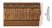 Плинтус напольный Арт-Багет 153-3, интерьерный декор