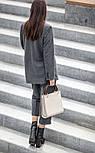 Женский шерстяной костюм: пиджак и брюки с высокой посадкой (в расцветках), фото 6