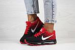 Женские кроссовки Nike Air Max 2017 (черно-красные), фото 4