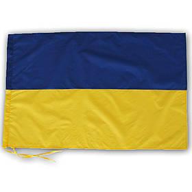 Флаг Украины 65х90 см с завязками для флагштока