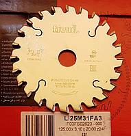 Пила подрезная LI25M31FA3 D125 d20 Z24