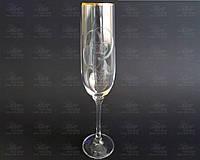 Crystalex Свадебные бокалы для шампанского Viola 190мл 40729/190/Q8626
