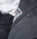 Женский прямое пальто с отложным воротником (в расцветках), фото 9