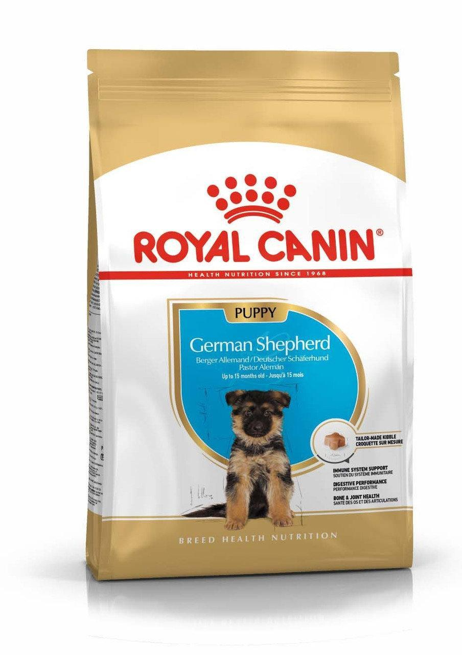 Royal Canin German Shepherd Puppy 12 кг - корм для щенков немецкой овчарки до 15 месяцев