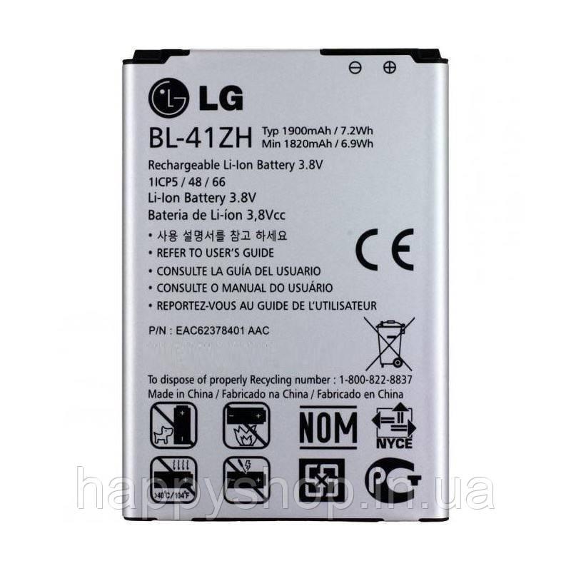 Оригинальная батарея для LG L FINO D295 (BL-41ZH)