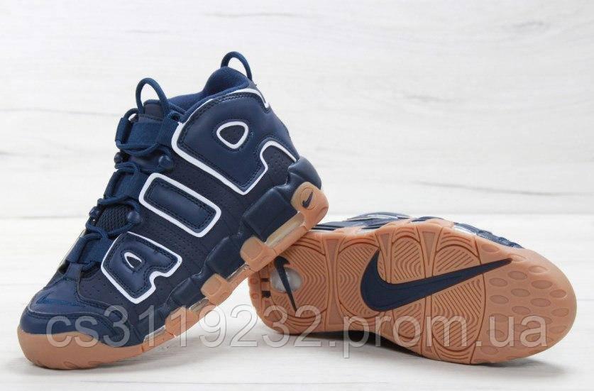 Мужские кроссовки Nike Air More Uptempo (синие)