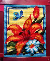 """Набор для вышивания с пряжей """"Лилия"""" 15х20 см. Bambini арт. 2244, фото 1"""