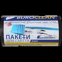 Пакеты для мусора Buroclean EuroStandart прочные 35 л 50 шт чёрные