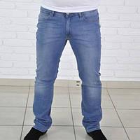 Мужские стильные брюки Levis, синего цвета.