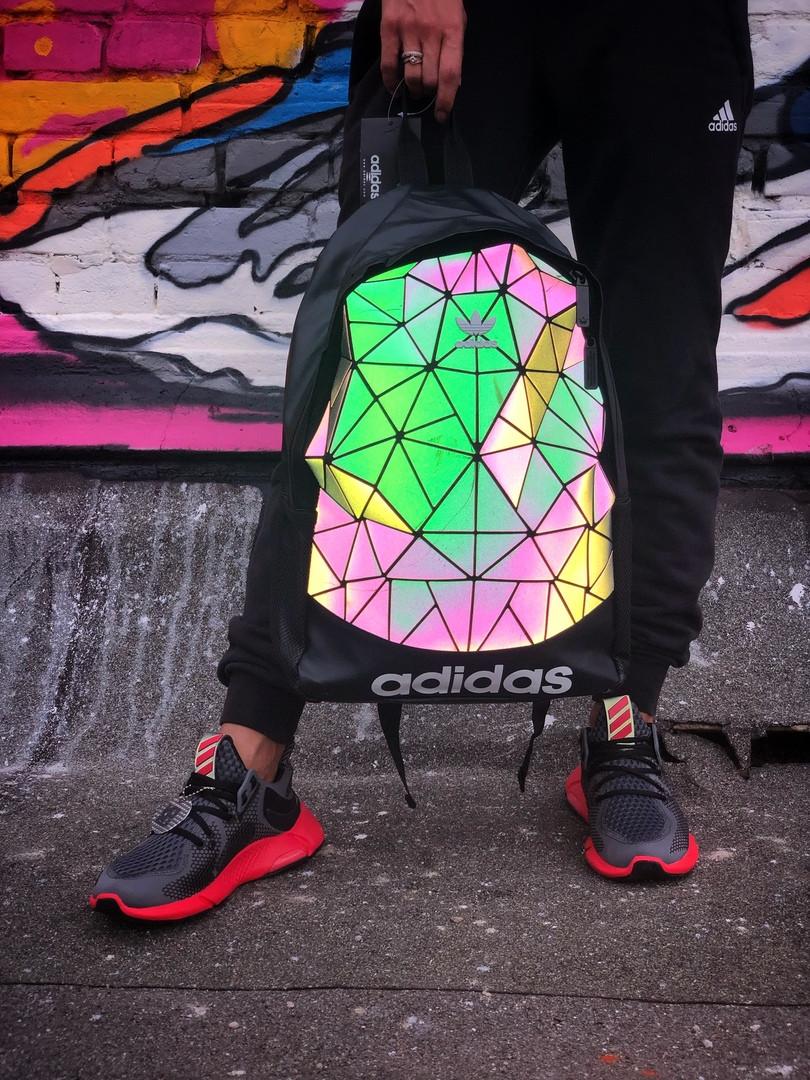 Рюкзак Adidas 3D Urban Mesh. Стильный вместительный рефлективный рюкзак.