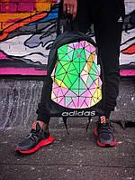 Рюкзак Adidas 3D Urban Mesh. Стильный вместительный рефлективный рюкзак. , фото 1