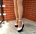 Женские туфли цвета пудра на платформе, натуральная кожа 39 40 ПОСЛЕДНИЕ РАЗМЕРЫ, фото 4