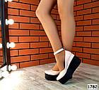 Женские туфли цвета пудра на платформе, натуральная кожа 39 40 ПОСЛЕДНИЕ РАЗМЕРЫ, фото 2