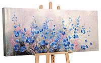 """Картина 100% ручная работа! Акриловыми красками на холсте YS-Art """"Комплимент"""" 115х50см (RR048)"""
