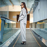 """Женский брючный костюм """"гусиная лапка"""": пиджак и брюки (в расцветках), фото 2"""