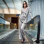 """Женский брючный костюм """"гусиная лапка"""": пиджак и брюки (в расцветках), фото 4"""